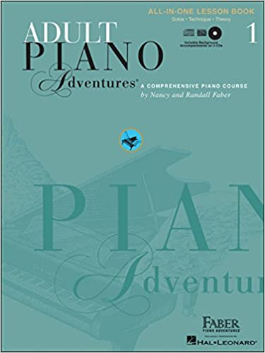 Faber Piano Adventures Adult Piano Adventures Book 1 Book/CD's