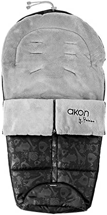 Bebé Due Akon - Saco de silla de paseo, color gris: Amazon.es: Bebé