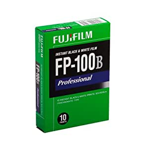 Fujifilm FUJIFILM FP-100B 3.25 X 4.25 Inches Professional Instant Black and White Film