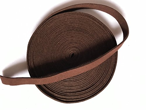 Tsuka Cord Suede Real Leather Ito Sageo for Japanese Samurai Sword Katana (Dark brown-SRT7, (Tsuka Handle)