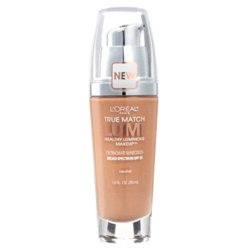 L'Oreal True Match Lumi Healthy Luminous Makeup, Natural Buff [N3], 1 oz (Pack of 2)