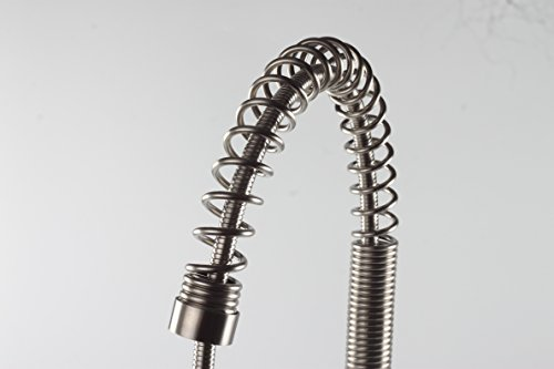 Stainless Steel Commercial Style Pre-Rinse Pull Down Pull Out Kitchen Faucet