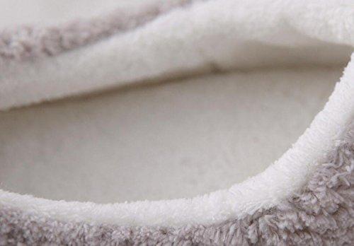 de de caseros de Invierno Lindo Rosa Zapatillas Navidad Animal Zapatos Dormitorio DANDANJIE Gris casa de y de Zapatillas Rosado Interior Chanclas Zapatillas Personaje Mujer nqwA6nO0B