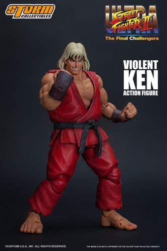 Storm collectibles Street Fighter II Violent Ken The Final Challengers Action Figura
