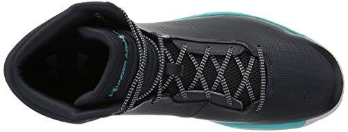 2 Hombre de Lockdown Negro UA para Zapatos Baloncesto Under Armour Anthracite q4t8wUP