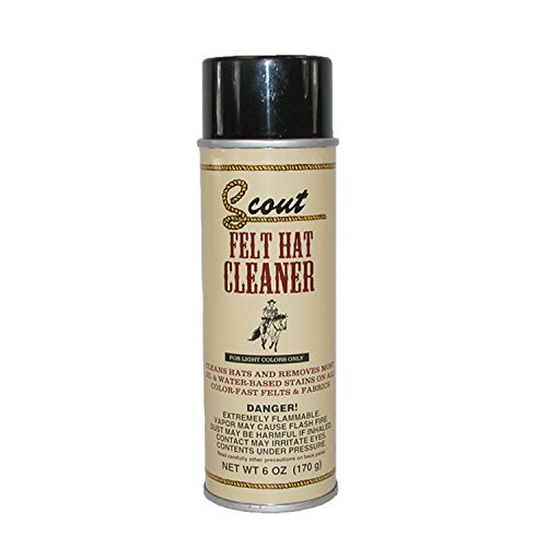 Price comparison product image SCOUT Wool Felt Hat Cleaner Spray, Light Hat