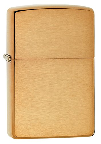 zippo-lighter-solid-brass-with-brushed-finish