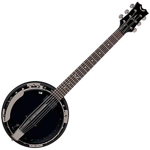 [Dean BW6CEBC Backwoods 6 Banjo with Pickup, Black Chrome] (Dean Backwoods 6 String Banjo)