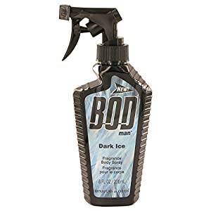 Bod Man Dark Ice by Parfums De Coeur Body Spray 8 oz