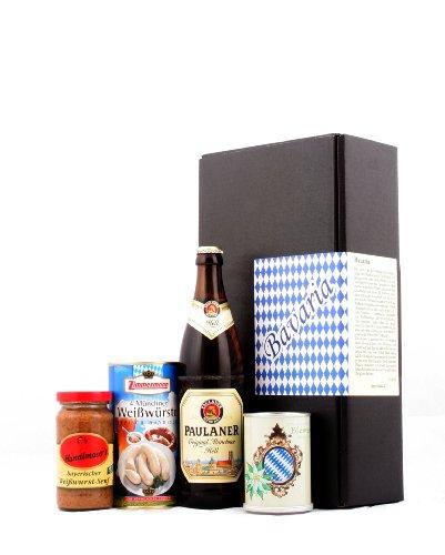 Typisch bayrisch – Bayern & München Spezialitäten Geschenk – Das ideale Geschenk nicht nur für Männer (Edelweiß)