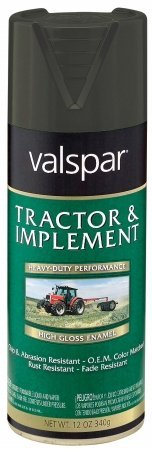 Implement Spray Enamel - Tractor and Implement Enamel Spray Paint [Set of 6] Color: Massey Ferguson Gray