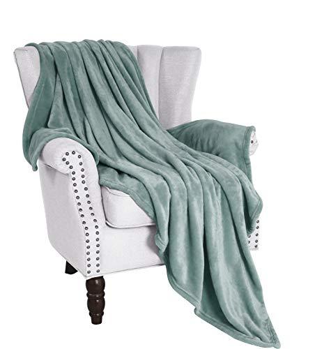 Exclusivo Mezcla Large Flannel Fleece Velvet Plush Throw Blanket - 50