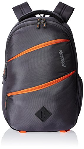 American Tourister Encarta Grey Casual Backpack (Encarta 02_8901836132915)