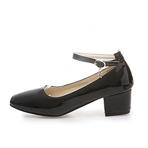 BalaMasa Apl10011, Sandales Compensées femme Noir