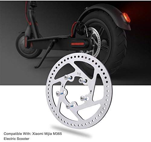 Scooter De Disco Pastillas De Freno Scooter De La Pieza De Recambio Accesorio para 4pcs Xiaomi M365 Negro
