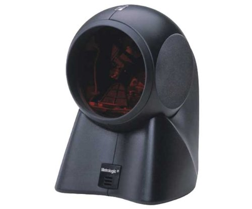 Honeywell ORBIT OMNIDIRECTIONAL SCANNER RS232 TO RUBY VERIFONE, BLACK (Includes two RS232 Cables) (112203)
