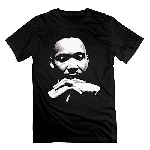 100% Cotton Man's Martin Luther King I Have A Dream Thinker T-Shirts