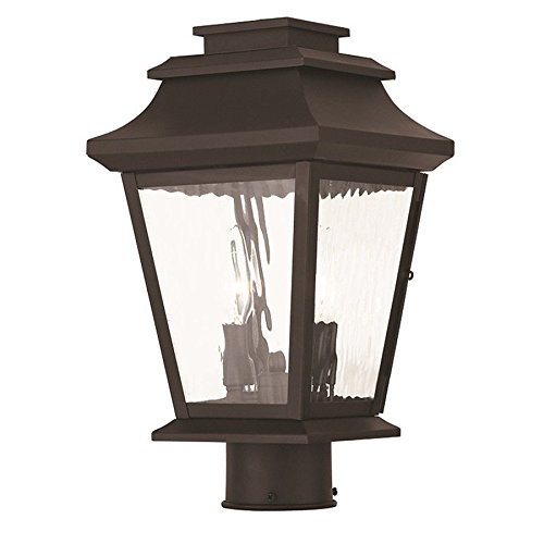 Livex Lighting Hathaway Post Lights, Bronze - 20234-07 supplier_id_shop_freely ,ket400131348630582 by itonotry