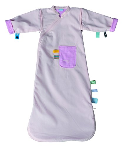 (Snoozebaby Comfort Sleepsuit with Detachable Sleeves, Pink, 3-9 Months)