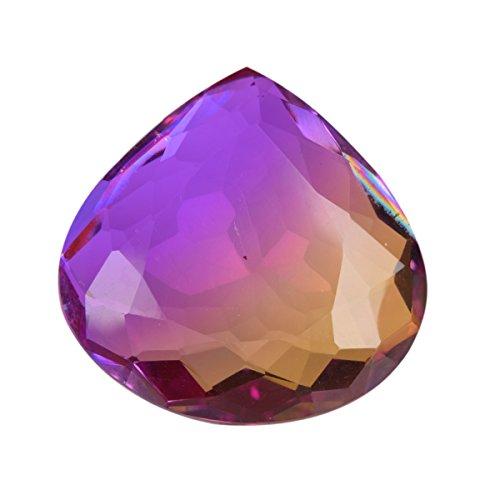 gemhub 101.00 Ct. Multi Color Alexandrite Pear Shape Loose Gemstone for Jewelry Making BQ-194