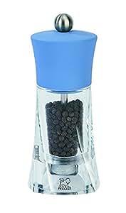 """Peugeot 32197 Oleron Pepper Mill, 5-1/2"""", Azure Blue"""