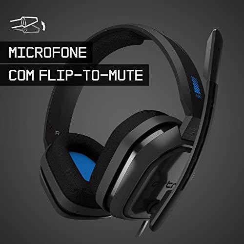 Headset Astro Gaming A10 Para Playstation, Xbox, Pc, Mac - Preto/Azul
