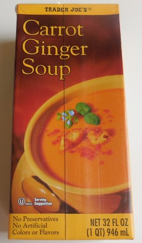 (Trader Joe's Carrot Ginger Soup 32 Ounce )