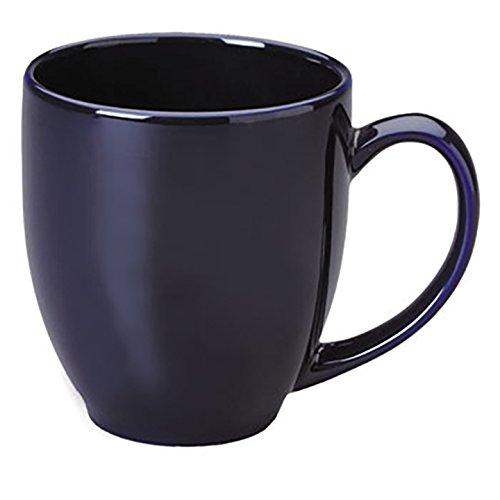 MainWare Main St. Bistro 15 oz 4-piece Mug Set (Cobalt Blue)