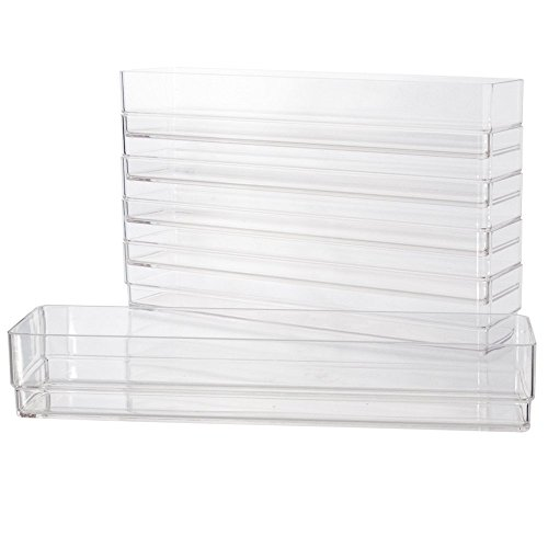 Break-Resistant Plastic Drawer Organizers 12