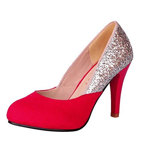 Elegante Lavoro MissSaSa per Rosso da Donna Scarpe Sala P4xqxg