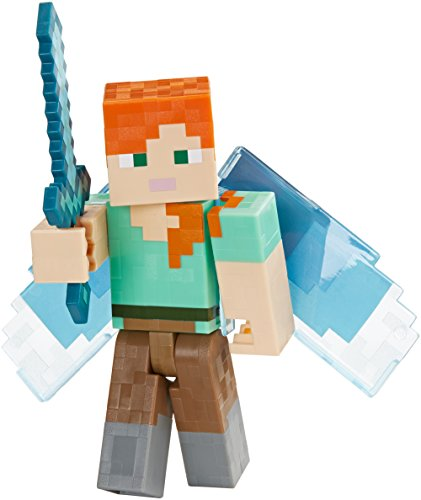 Minecraft Apples to Apples Alex with Elytra Basic Figure]()
