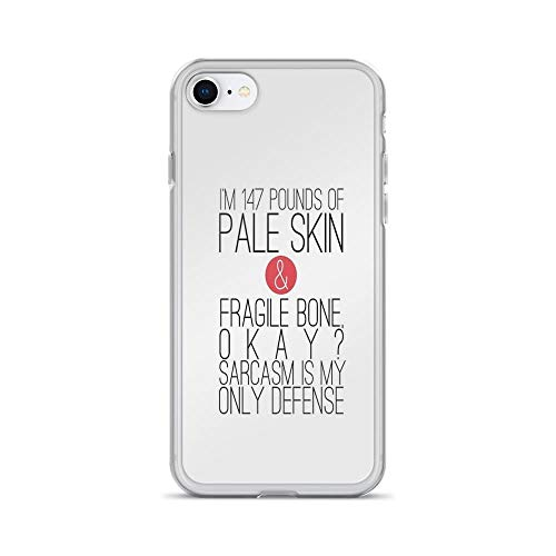 iPhone 7 Case iPhone 8 Case Clear Anti-Scratch Teen Wolf - Sarcasm Cover Phone Cases for iPhone 7/iPhone 8, Crystal Clear]()