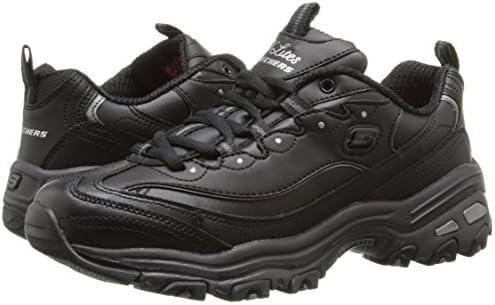 Skechers Femmes D Lites 11931 Noir BBK Memory Foam Sneaker Chaussures de sport NOUVEAU