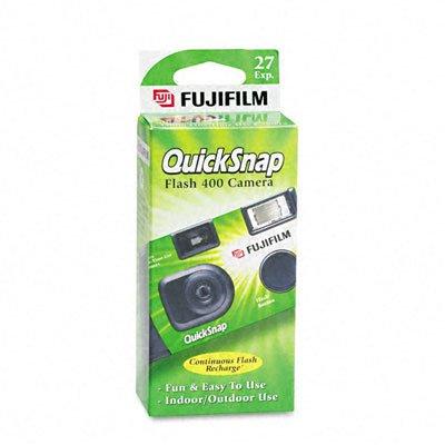 35mm QuickSnap Single Use Camera, 400 ASA by Fuji