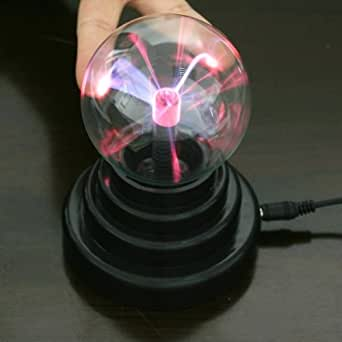 USB Plasma Ball Sphere Light Lamp Desktop Light Show For Laptop PC Party