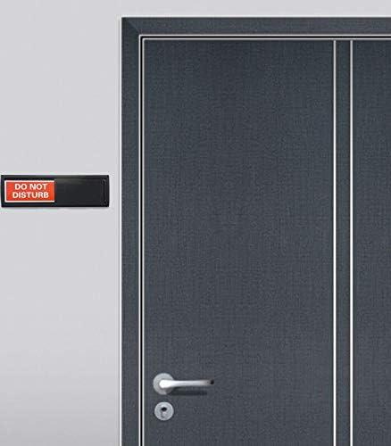 Amazon.com: Cartel Do Not Disturb color negro | EL OBTURADOR ...