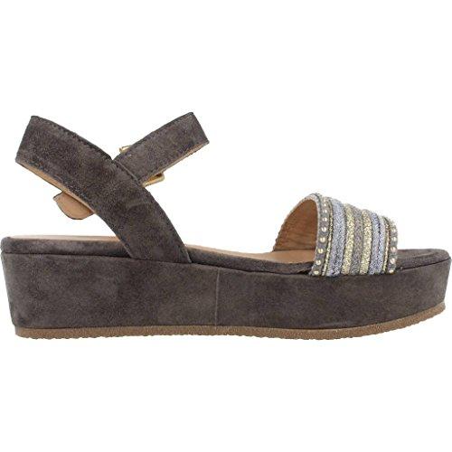 Sandalias y chanclas para mujer, color gris , marca ALPE, modelo Sandalias Y Chanclas Para Mujer ALPE 3438 R6 Gris gris