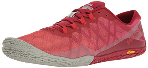 Merrell Womens Damp Handschoen 3 Trail Runner Chili