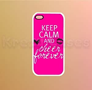 Keep calm and cheer forever Iphone 5 Case - For Iphone 5, iPhone 5 cover