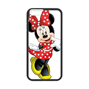 Disney Mickey Mouse Minnie Mouse iPhone 6 4.7 Inch Cell Phone Case Black Izvim
