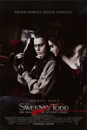 Amazon.com: Sweeney Todd: The Demon Barber of Fleet Street Poster ...