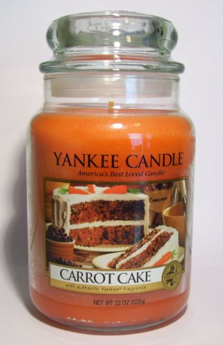 Yankee Candle CARROT CAKE 22 oz RETIRED SCENT