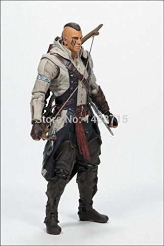Game Genuine Assassin's Creed Series Connor With Mohawk Hair 6