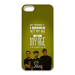 Blink 182 Pattern Design Solid Rubber Customized Cover Case for iPhone 4 4s 4s-linda599