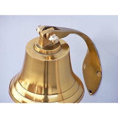 Brass Hanging Harbor Bell 4