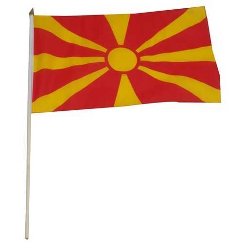 Us Flag Store Macedonia Flag, 12 by 18-Inch