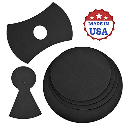 """4 Pack Drum Mutes, 12,13,14,16"""" Drum Silencers (4 Pack with Cymbal + Hi hats)"""
