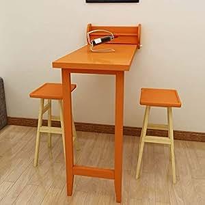 Amazon.com: Mesa de pared LF, mesa de comedor plegable de ...