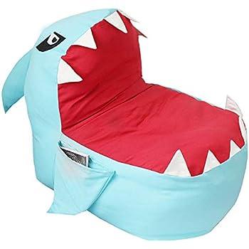 Amazon Com Olizee Creative Shark Bean Bag Chair For Kids