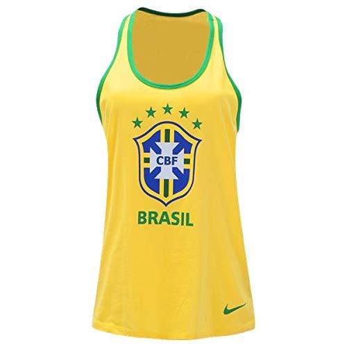 042271d0a7edc Amazon.com : Nike Cotton Brazil Graphic Racerback Tank Top (XS) : Sports &  Outdoors